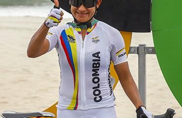Sanabria fue la única representante nacional en el Gran Fondo femenino de los JJOO Brasil 2016