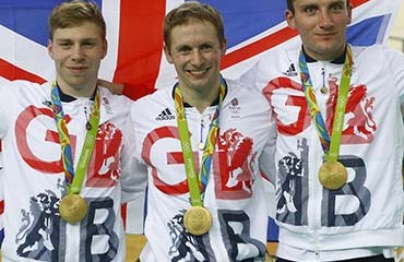 Gran Bretaña fue la absoluta dominadora en la apertura de la Pista olímpica de Rio de Janeiro 2016