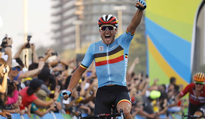 El belga se impuso en el espectacular circuito olímpico de Río de Janeiro
