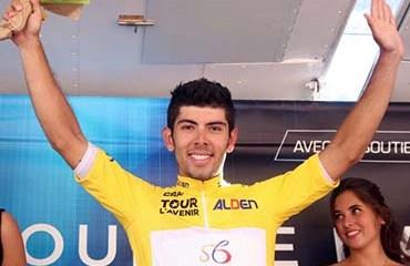 Rodríguez alcanzó el liderato tras la 6ta etapa del Tour del Avenir