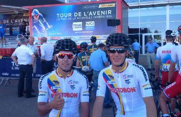 Los por una buena CRI en el Tour de L'Avenir