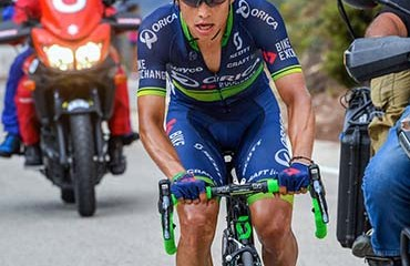 """""""Chavito"""" recuperó el tercer cajón del podio tras una épica acción en la vigésima etapa de la Vuelta a España 2016"""