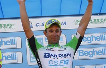 Ruffoni resultó vencedor de la version 2016 del GP Beghelli