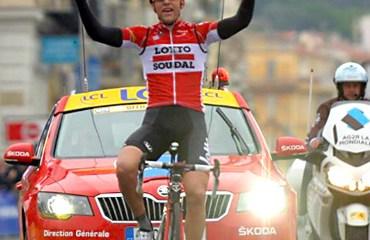 Tony Gallopin fue el vencedor del Gran Premio de Valonia