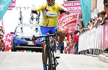 Sanabria ganó en Anserma y se ratificó al frente de la ronda nacional femenina