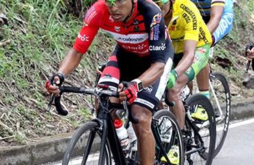 """""""Micky"""" Rubiano se adjudicó la novena etapa de la prueba panameña en una nueva exhibición del ciclismo colombiano"""