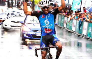 Brayan Salas ganador de cuarta etapa de Vuelta a Costa Rica