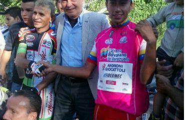 Iván Ramiro Sosa, excelente actuación en Vuelta al Táchira