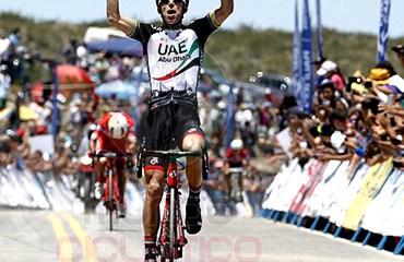 Rui Costa vencedor de etapa reina de Vuelta a San Juan