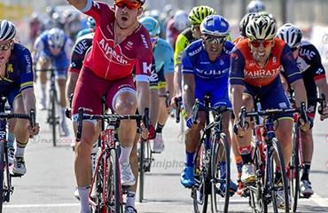 Alexander Kristoff ganador de primera etapa y líder de Tour Omán