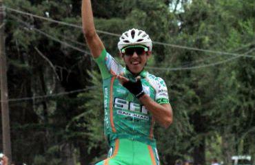 Gonzalo Najar, líder de Vuelta a Mendoza