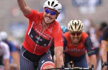John Degenkolb, ganador de la dramática etapa del Dubai Tour