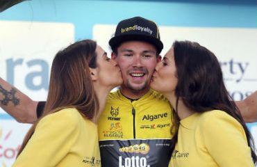 Primoz Roglic, campeón de Vuelta al Algarve