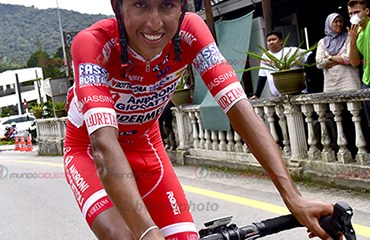 Egan Bernal fue el mejor de los colombianos en la primera etapa