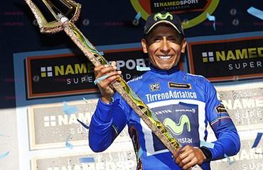 El propio Nairo confirmó que esta en perfectas condiciones de salud al igual que su hermano Dayer que sufrió una fuerte caída en la E3 Harelbeke