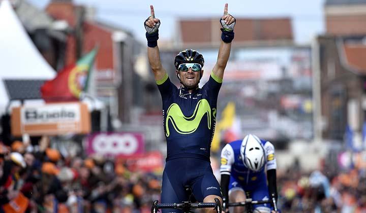 Alejandro Valverde ganador por cuarta ocasión de la Lieja-Bastoña-Lieja