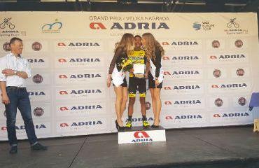 Carlos-Becerra ganador de los premios de montaña del GP Adria Mobil