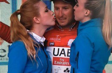 Sacha Modolo ganador de primera etapa y líder