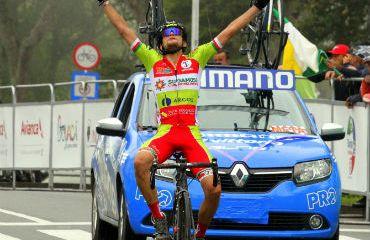 Sergio Martínez, nuevo líder de la Vuelta de la Juventud