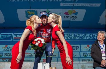 Vincenzo Nibali,líder del Tour de Croacia