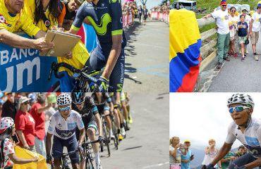 Colombia en el Tour Francia 2017