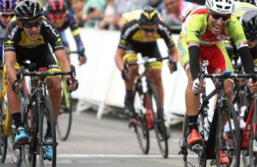 Daniel Balsero ganador de etapa y líder