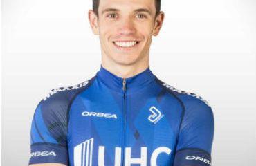 Daniel Jaramillo, uno de los colombianos en el Tour de Hungría