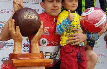 Oscar Rivera campeón Vuelta a Boyacá