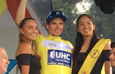 Daniel Jaramillo ganador de la cuarta etapa de Tour de Hungría