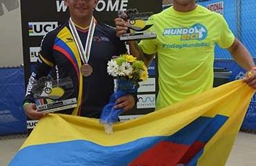 José Luis Díaz y Gabriel Castrillón lograron los trofeos mundiales (W) para Colombia en la 4ta jornada del Mundial de BMX en EU