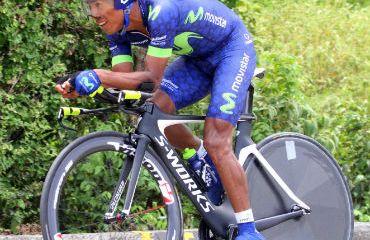 Oscar Soliz, uno de los opcionados a ganar la Vuelta a Colombia