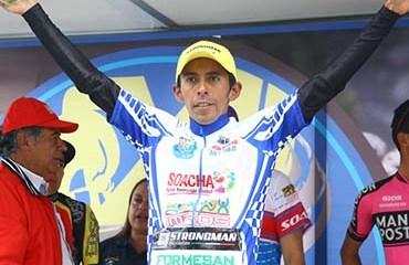 Carlos Becerra se proclamó campeón de la edición 2017 de la Clásica de Soacha