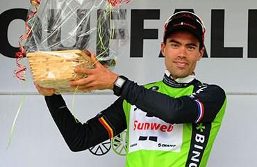 El vigente campeón del Giro de Italia, Tom Dumoulin, apunta a quedarse con el título del BinckBank Tour 2017