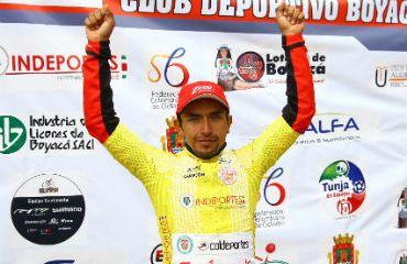 Miguel Ángel Rubiano, campeón de la Clásica Club Deportivo Boyacá