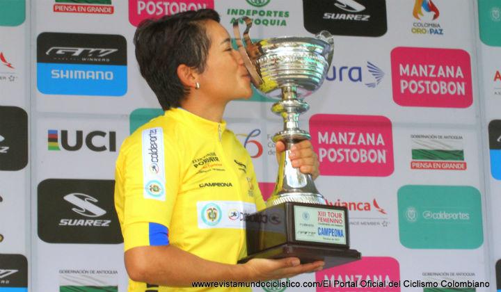 Ana Cristina Sanabria, bicampeona del Tour Femenino