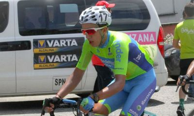 César Nicolás Paredes, uno de los colombianos en Vuelta a Chile