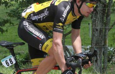 William Muñoz, uno de los integrantes de Strongman para Vuelta a Costa Rica