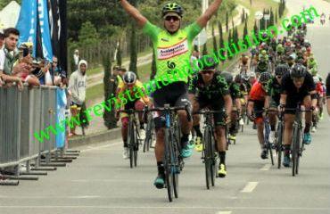 Jaime Castañeda ganador de primera etapa de Clásica de Rionegro