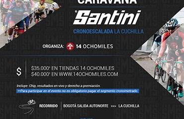 14 Ochomiles realiza su primera CARAVANA SANTINI del 2018 este domingo 4 de Marzo con la EDICIÓN LA CUCHILLA