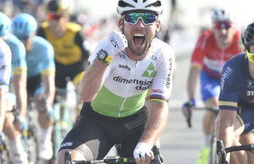 Mark Cavendish ganador de tercera etapa de Dubai Tour