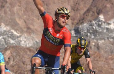 Sonny Colbrelli vencedor de la cuarta etapa del Tour de Dubai