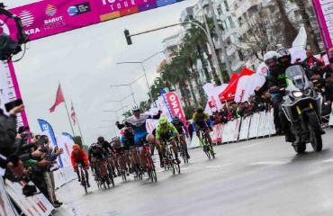 Matteo Moschetti vencedor de primera etapa (Foto Fundación Alberto Contador)