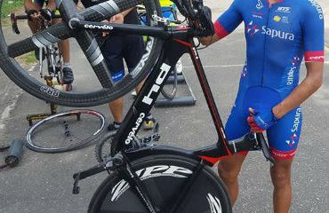 Jahir Pérez hará parte del Tour de Langkawi desde este domingo