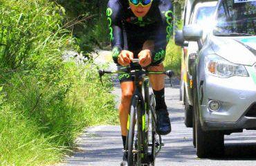 Rodrigo Contreras fue el vencedor de la CRI de la Vuelta al Valle