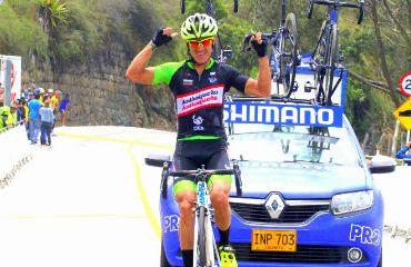 Dany Osorio vencedor de etapa reinan de Clásica de Anapoima