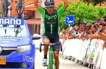 Fredy Montaña ganó última etapa y se coronó campeón de Clásica de Anapoima