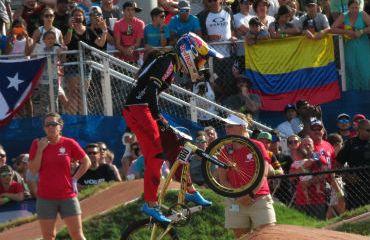 Mariana Pajón fue sexta en la segunda fecha de Copa Mundo BMX en París