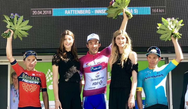 Miguel Ángel López terminó tercero en Tour de los Alpes