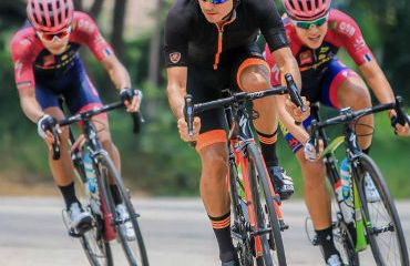 Jorge Camilo Castiblanco, segundo en 5ta etapa de Tour de Japón este jueves