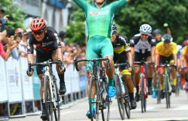 El boyacense Julián David Molano fue el vencedor de la primera etapa de la Vuelta de la Juventud